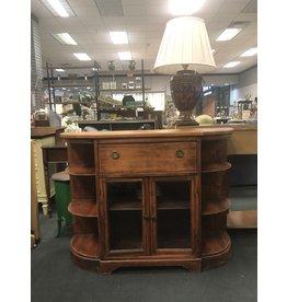 Vintage Demilune Secretary Desk
