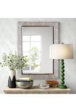 Rectangular Silver Accent Mirror