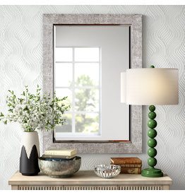 Rectangular Silver Accent Mirror