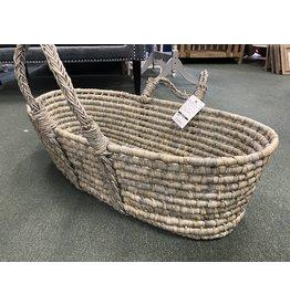 Gray Woven Basket