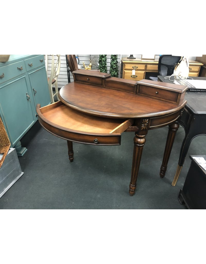 Contemporary Demilune Ladies Writing Desk