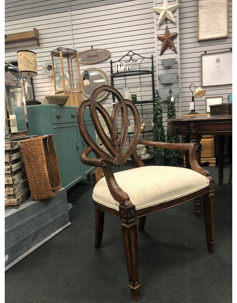 Open Back Armchair