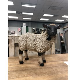 Resin Sheep Figurine, 11""