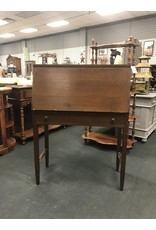 Drop Front Oak Secretary