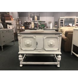 Small Two Tone Jacobean Style Buffet