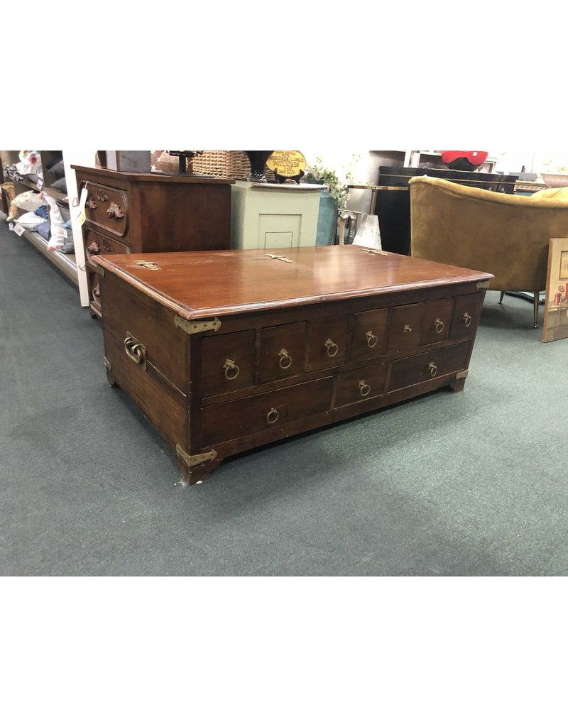 Pottery Barn Apothecary Style Coffee Table