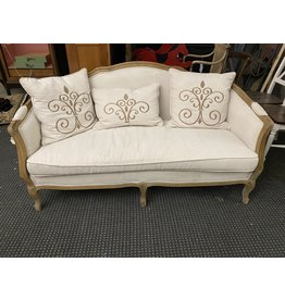 French Style Settee (as is)