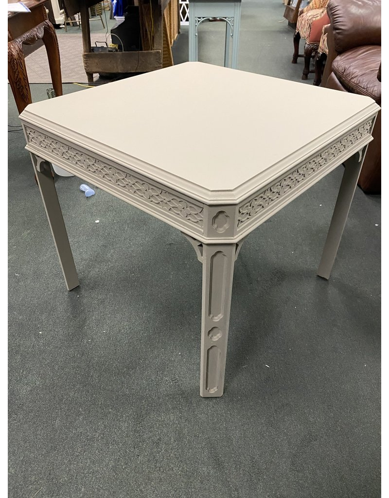 Perfect Gray Painted Side Table