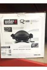Weber Q 1400 Portable Electric Grill - Dark Gray
