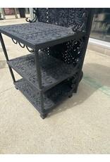 Cast Iron Decorative Shelf w/ Wine Holder