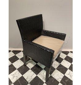 Wicker Dining Chair w/ Cushion