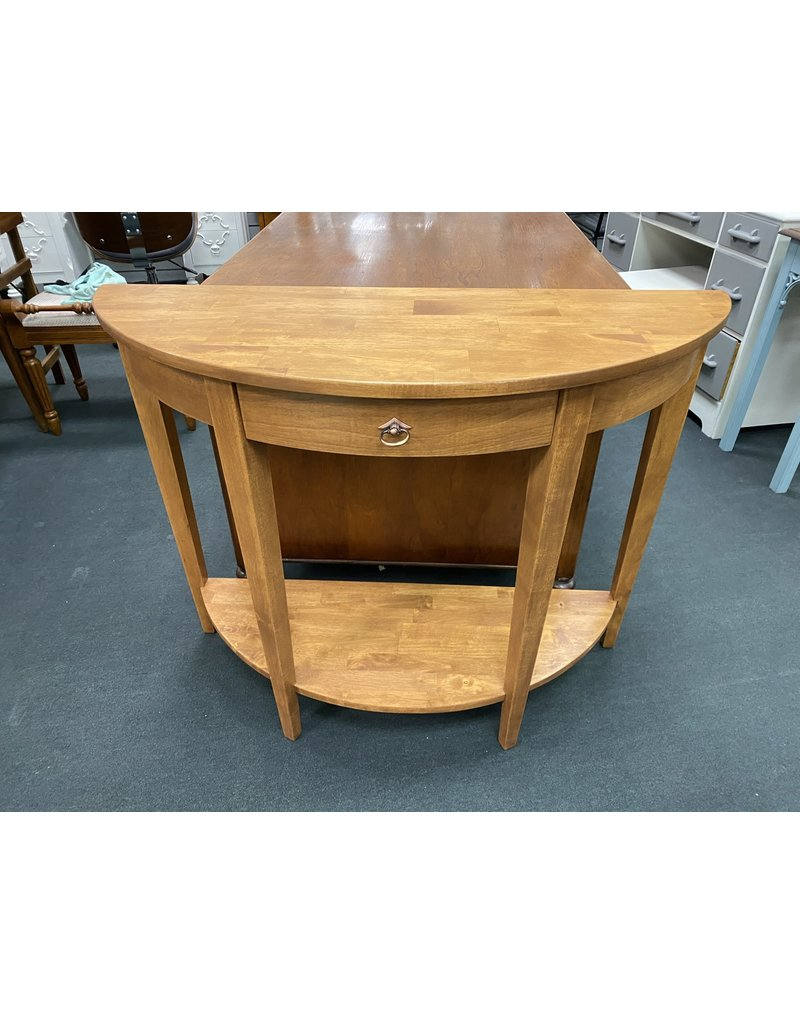 Demi Lune Stained Sofa Table