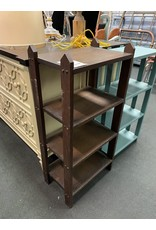 Wood Mission Style Bookcase