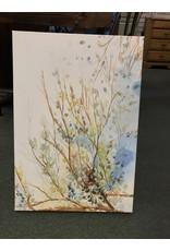 Blue/Green Branch Canvas