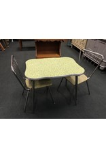 Children's Vintage Table Set With 2 Chairs