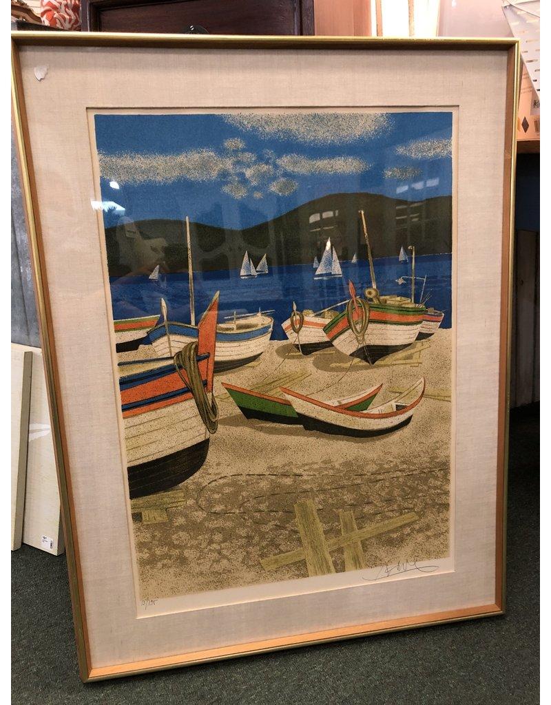 Framed Nautical Print