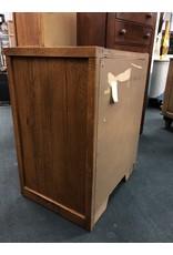 Dark Wood Corner Display Cabinet