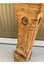 1890's Ornate Carved Victorian Post