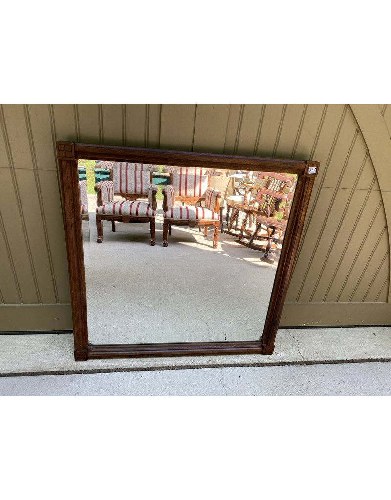 Victorian Wood Framed Mirror