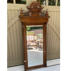 Large Victorian Carved Mirror
