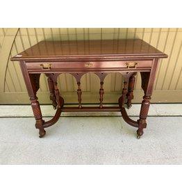 Victorian Cherry Ladies Desk w/ Strecher Base