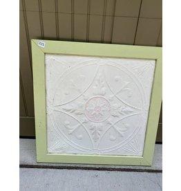 Green Framed Ceiling Tile