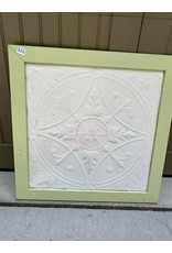 Green Framed Ceiling Tile