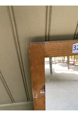 Small Wood Framed Mirror