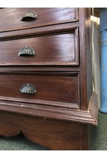 Tall 9 Drawer Tapered Chest w/ Shell Pulls