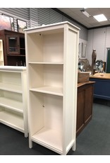 Tall White Painted Bookcase