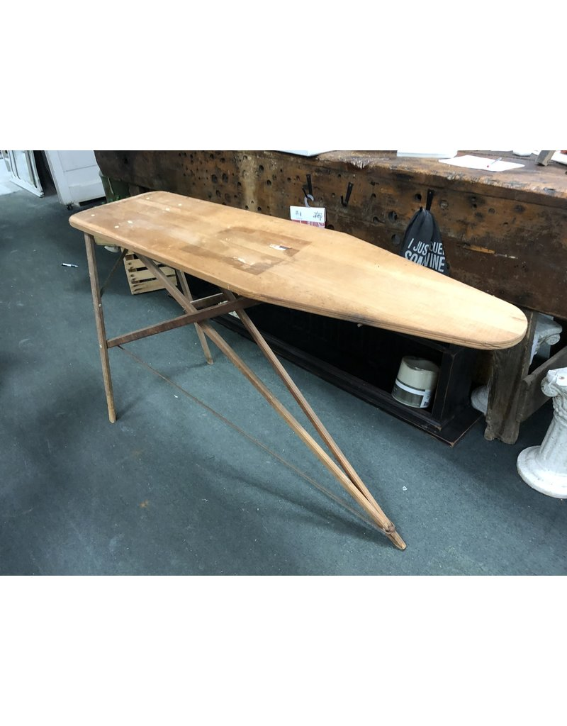 Primitive Wood Antique Ironing Board