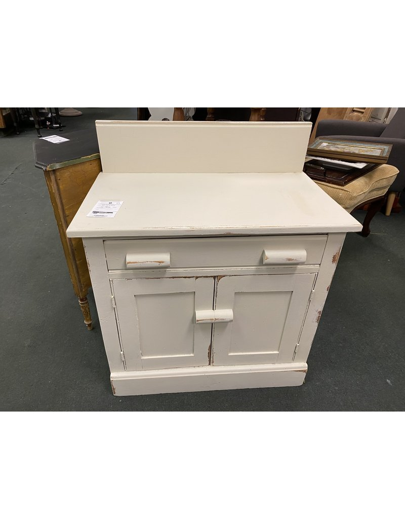 Empire Gray Painted Washstand