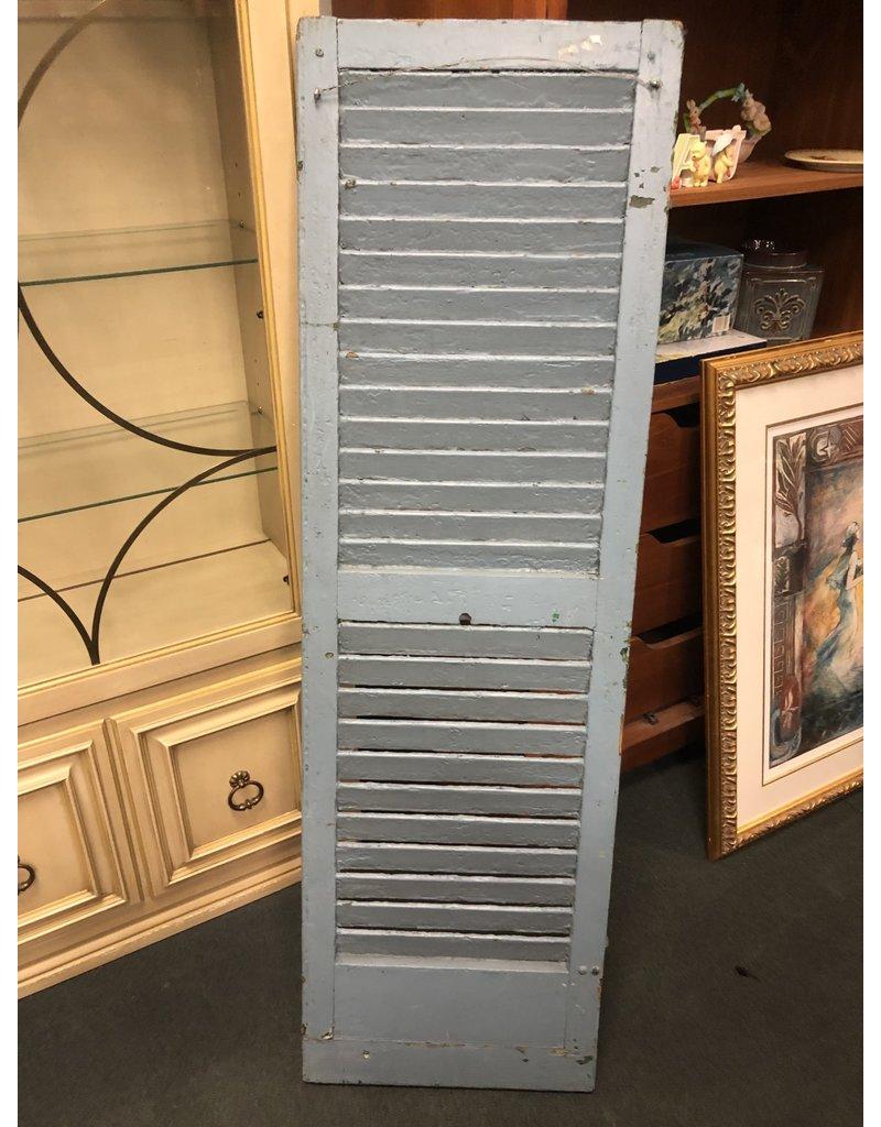 Vintage Blue Shutter