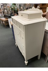 1940's White Painted Chest