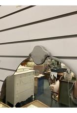 Gray Painted Vanity w/ Mirror