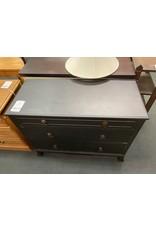 Black 3 Drawer Dresser