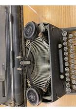 Vintage Black L. C. Smith Typewriter