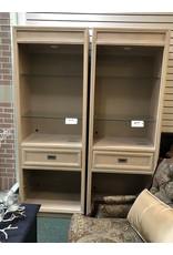 Antique 2 Door Walnut Cabinet w/ Lift Top