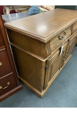 Oak Buffet w/Drawers and Doors