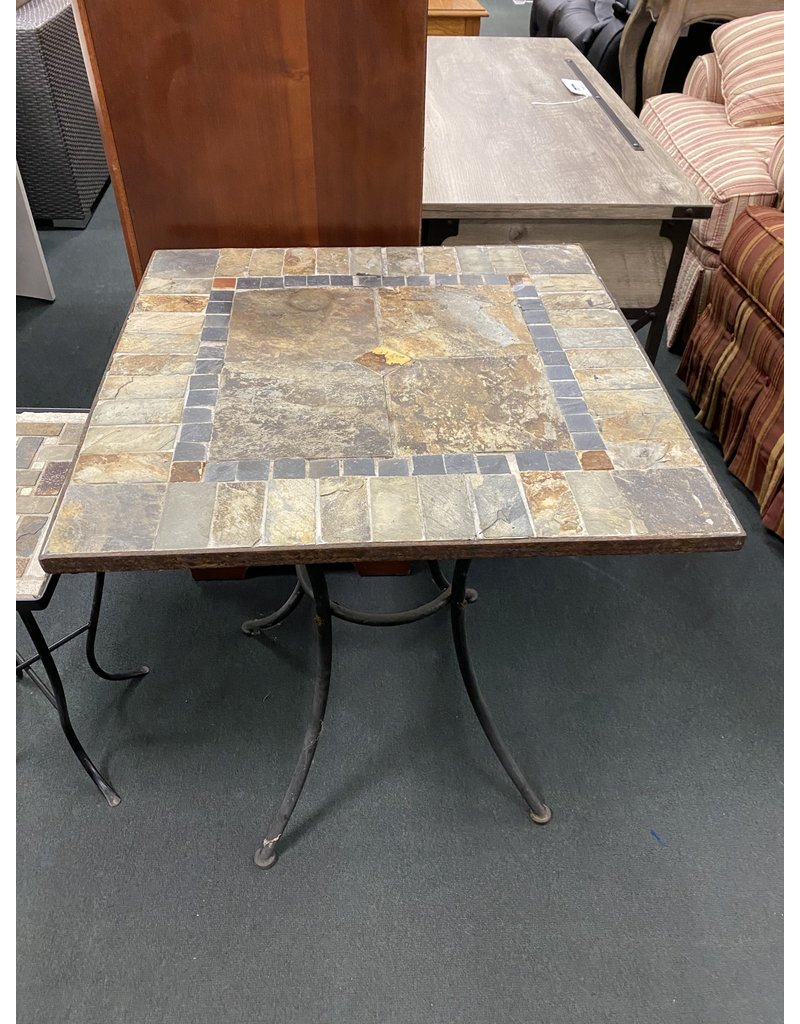 Mosaic Stone Outdoor Table