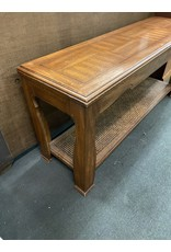 Long Dark Wood Sofa Table