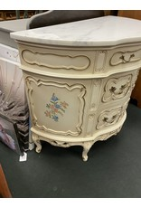 French Style Demi Lune Hall Cabinet