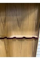 Amish Oak Gun Display Cabinet