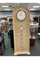 Blonde Lingerie Chest w/ Clock by Thomasville
