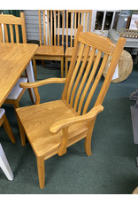 Amish Made Solid Oak Table and 10 Chairs