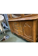 French Style 1 Piece Hutch