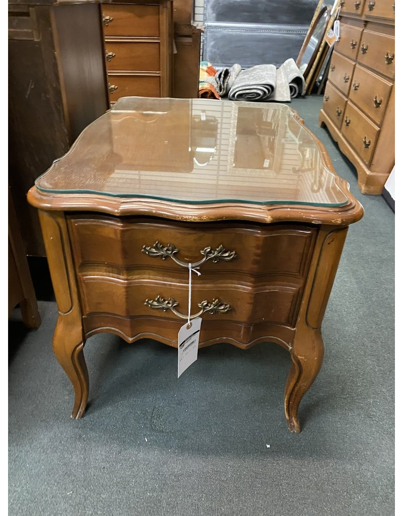 French Style 1 Drawer Night Stand