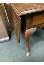 Drop Leaf Queen Anne Style Night Stand