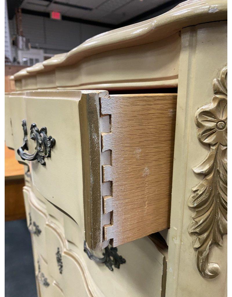 Blonde 5 Drawer French Style Dresser