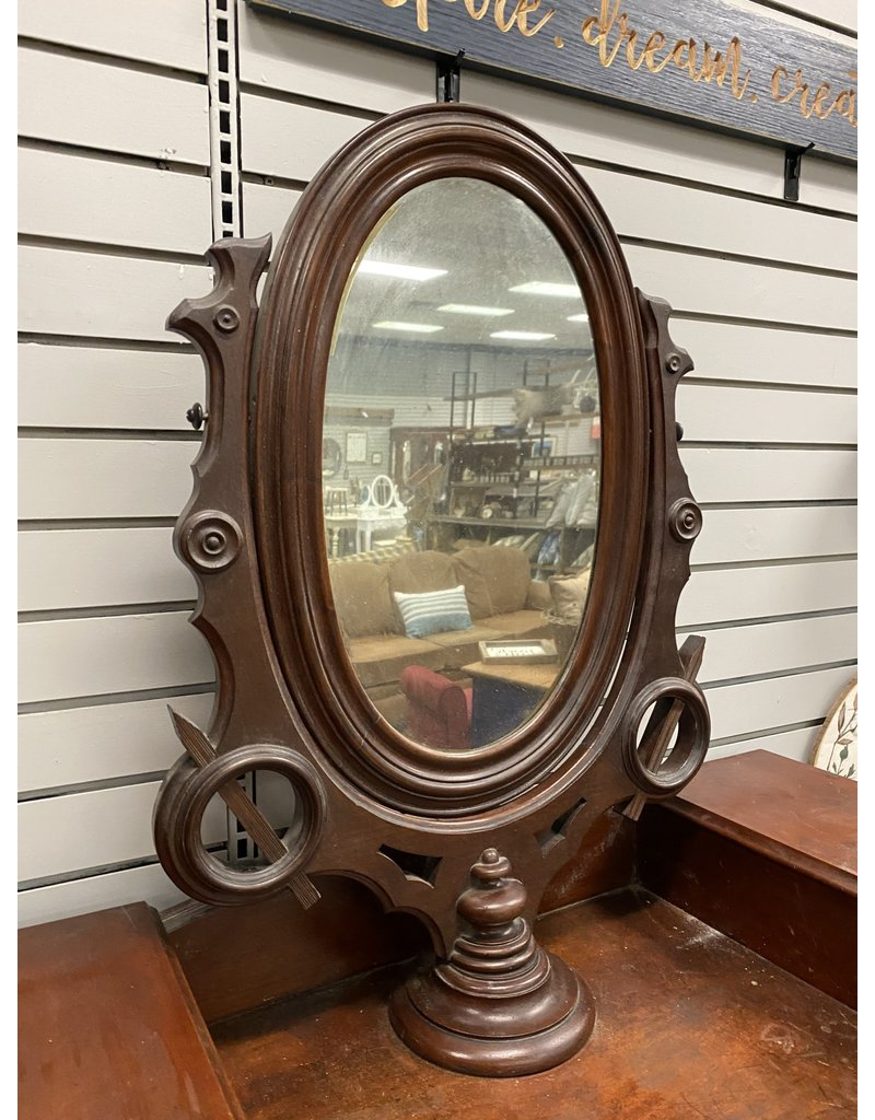 Wish Bone Mirror Antique Dresser